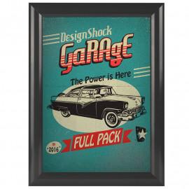 Kliklijst Vintage Grijs A4 25mm